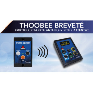 New patent validated with the THOOBEE wireless alert button system